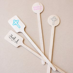 Personalized Party Stir Sticks