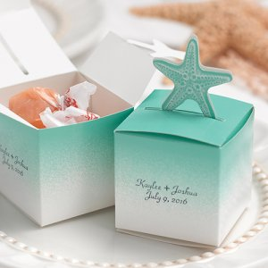 Personalized Beach Favor Boxes
