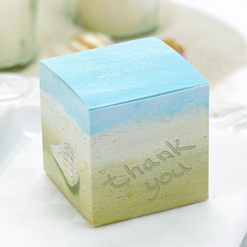 Personalized Seaside Favor Boxes
