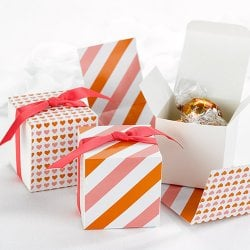 Reversible Wrap Favor Boxes