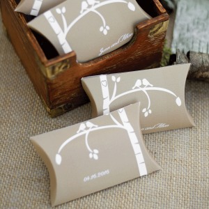 Personalized Themed Pillow Boxes
