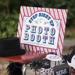 Circus Themed Photo Booth Sign