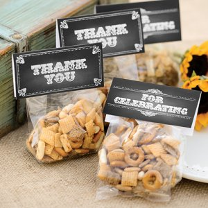Treat Toppers with Cello Bags