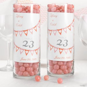 Personalized Table Number Cards