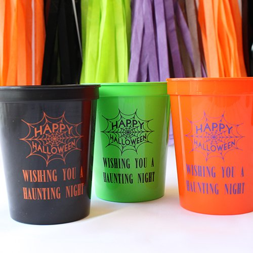 Personalized Holiday Stadium Cups