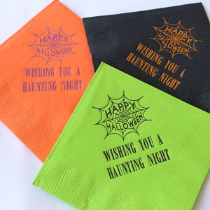 Personalized Holiday Napkins