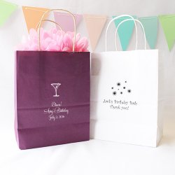 Personalized Birthday Gift Bags