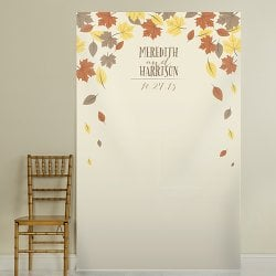 Personalized Bridal Photo Backdrop