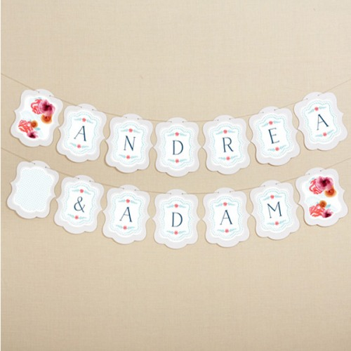 Personalized Themed Garland