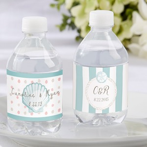 Personalized Themed Water Bottle Label