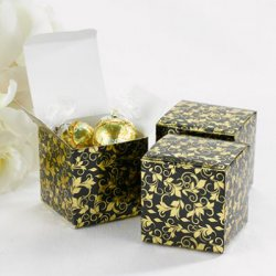 Foil Patterned Favor Boxes
