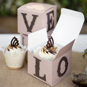 Rustic Love Cupcake Box