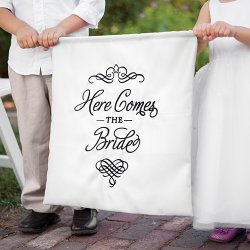 Custom Here Comes The Bride Sign