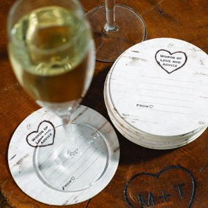 Woodgrain Advice Coasters