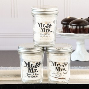 Personalized Printed Glass Mason Jar