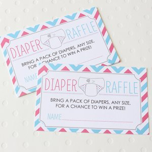 Baby Shower Diaper Raffle