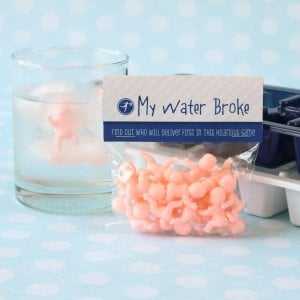 """My Water Broke"" Baby Shower Game"