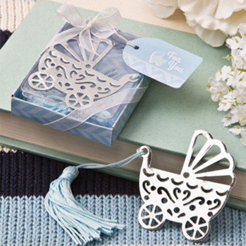 Blue Baby Carriage Bookmark