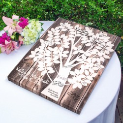 Personalized Canvas Guest Book