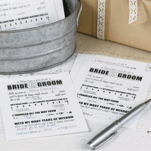 Bride and Groom Advice Notes