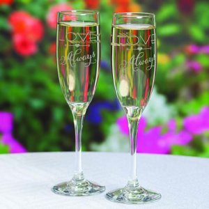 Personalized Love Always Flutes