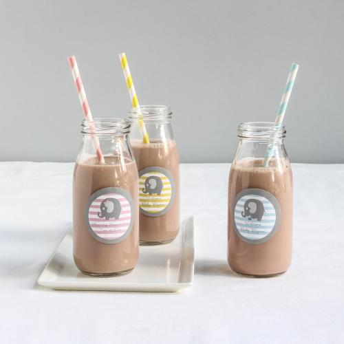 Personalized Elephant Milk Jars
