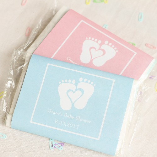 Personalized Baby Feet Microwaveable Popcorn Bags