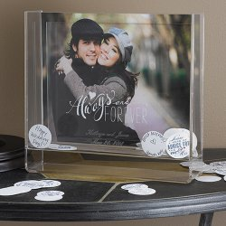 Personalized Always and Forever Box Frame
