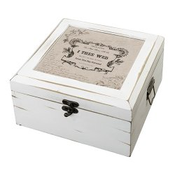 Personalized Antique Card Box