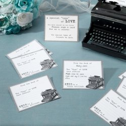 Bridal Wish Cards