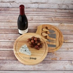 Custom Cheese Board with Tool Set