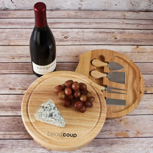 Cheese Board And Tool Set Cheese Board And Knife Set