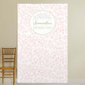 Personalized Birthday Photo Backdrop