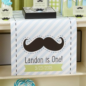 Personalized Birthday Table Runner