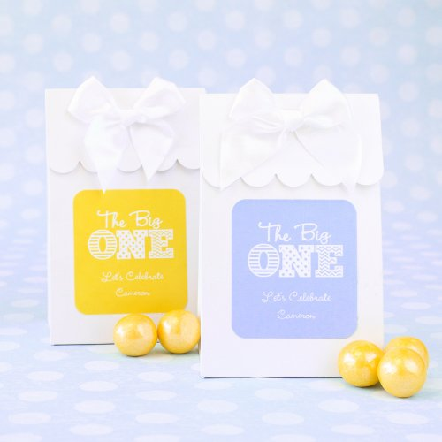 Personalized Milestone Birthday Candy Bags