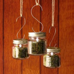 Glass Mason Jar Tea Light