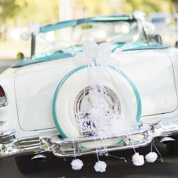 Wedding Getaway Car Decor Kit