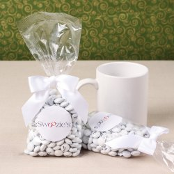 Custom Corporate Candy Bags with Label