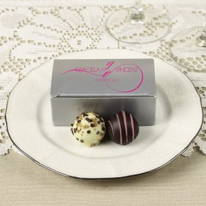 Custom Bridal Truffle Box