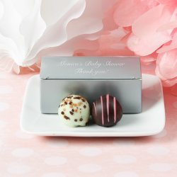 Custom Baby Shower Truffle Box