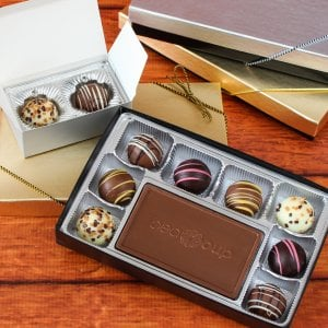 Custom Truffle Gift Box