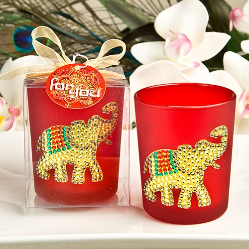 Elephant Votive Candle Holder