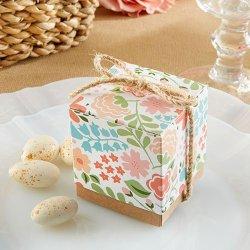 Vintage Floral Favor Boxes