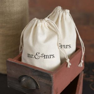 Themed Cotton Favor Bags