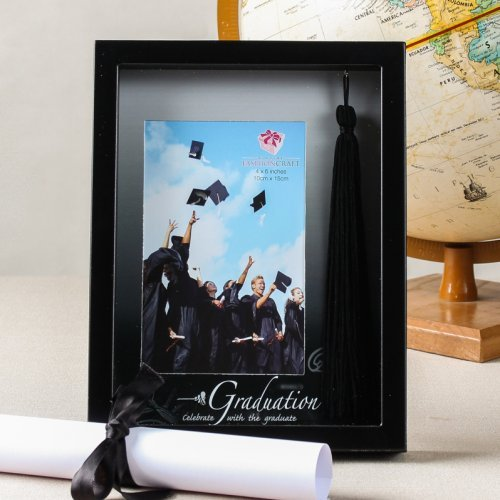 Graduation Picture Frame with Tassel