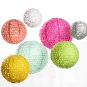 Eyelet Paper Lanterns