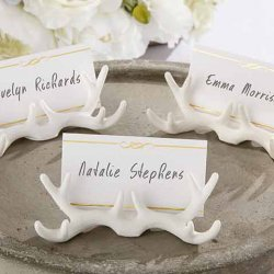 Antler Place Card Holder
