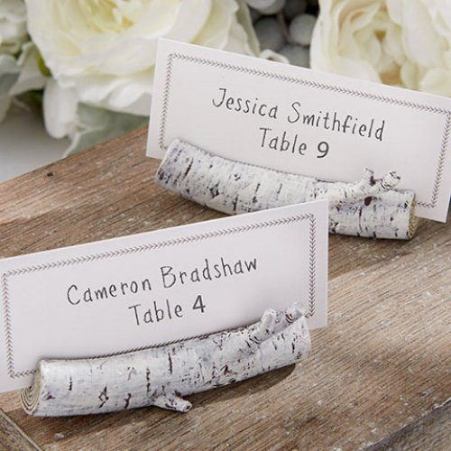 Birch Place Card Holder