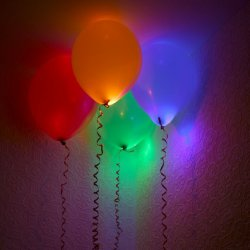LED Light Up Balloons