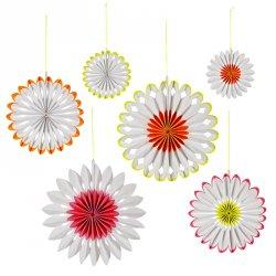 Spring Flower Pinwheels